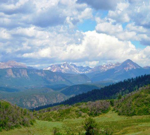 southwest colorado mountain views