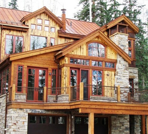 rusting custom home - durango real estate